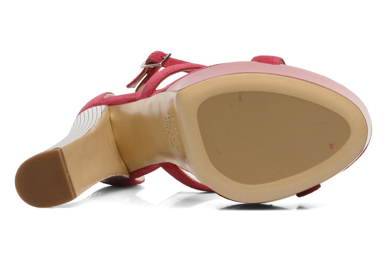 Sandali e scarpe aperte Vicini Trafacette Rosa immagine dall'alto