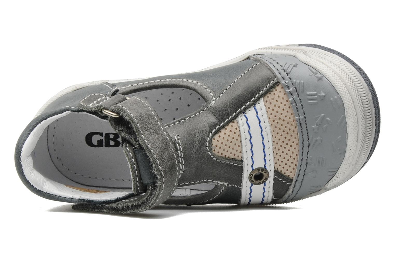 Bottines et boots GBB Baptiste Gris vue gauche