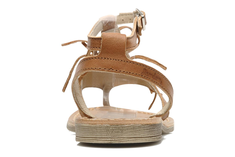 Sandales et nu-pieds Ramdam by GBB Bamako Marron vue droite
