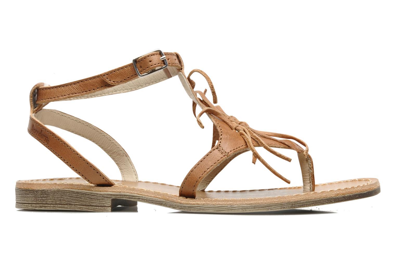 Sandales et nu-pieds Ramdam by GBB Bamako Marron vue derrière