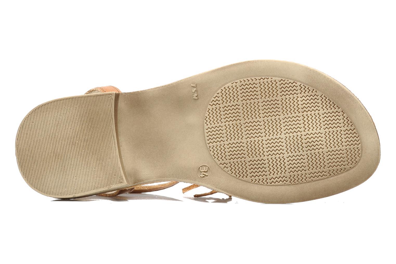 Sandales et nu-pieds Ramdam by GBB Bamako Marron vue haut