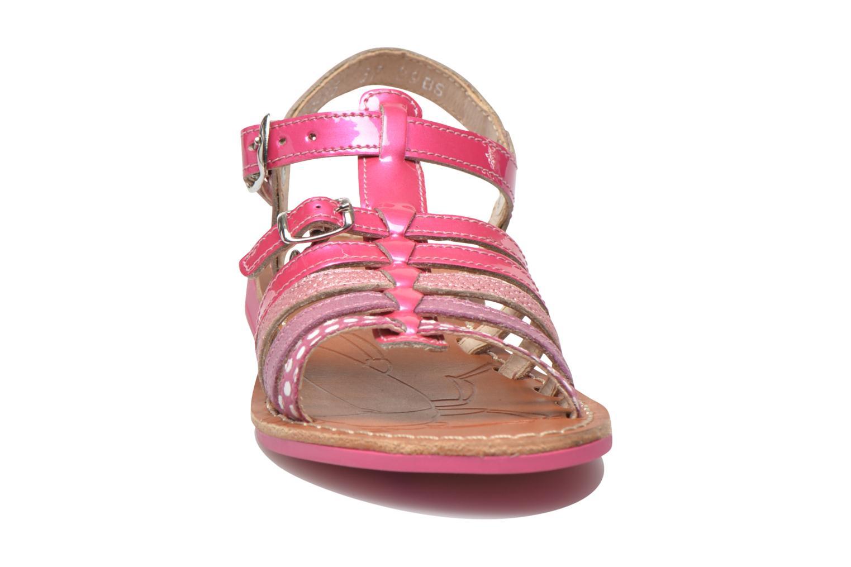 Sandales et nu-pieds Ramdam by GBB Bangkok Rose vue portées chaussures