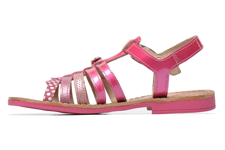 Sandals Ramdam by GBB Bangkok Pink front view