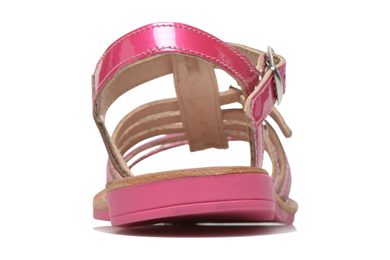 Sandales et nu-pieds Ramdam by GBB Bangkok Rose vue droite