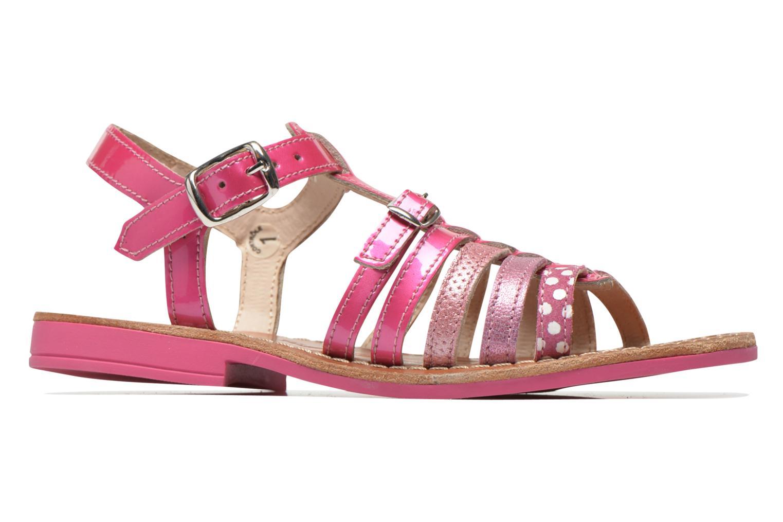 Sandales et nu-pieds Ramdam by GBB Bangkok Rose vue derrière