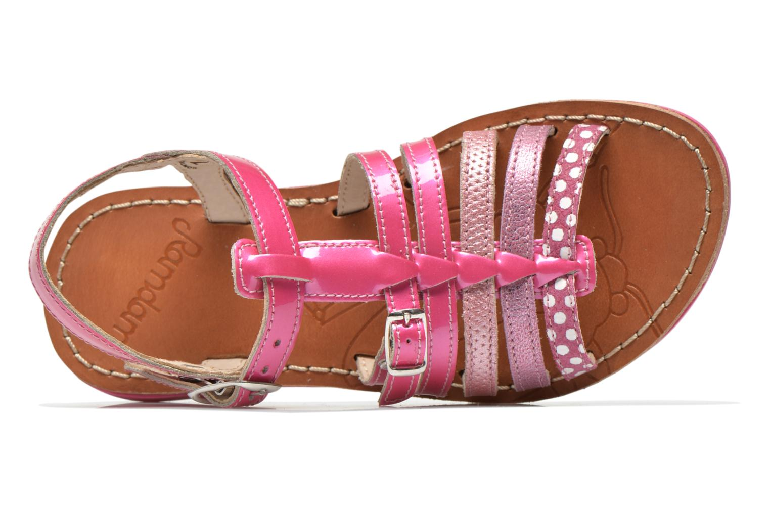 Sandals Ramdam by GBB Bangkok Pink view from the left