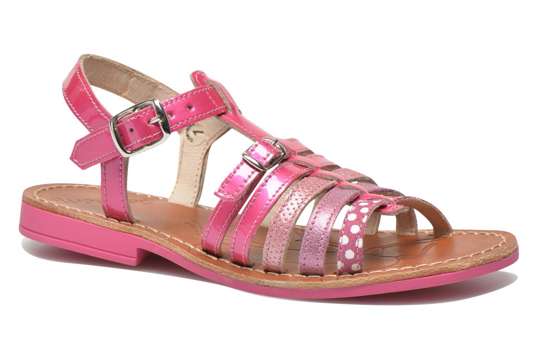 Sandals Ramdam by GBB Bangkok Pink detailed view/ Pair view