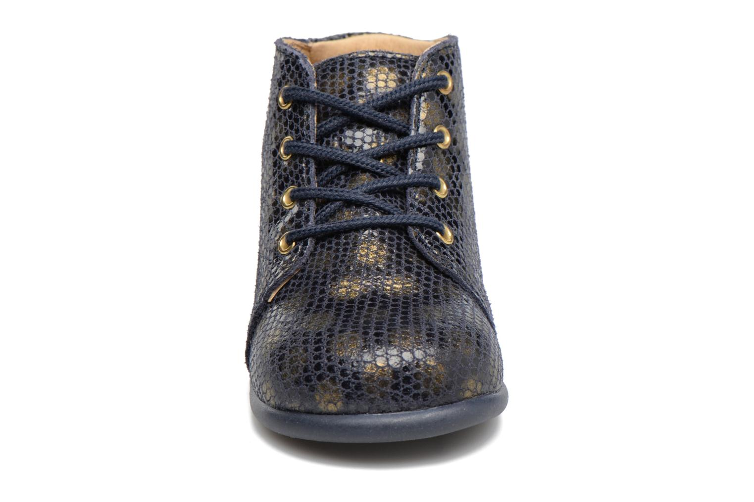 Ankle boots Babybotte Fredy Blue model view