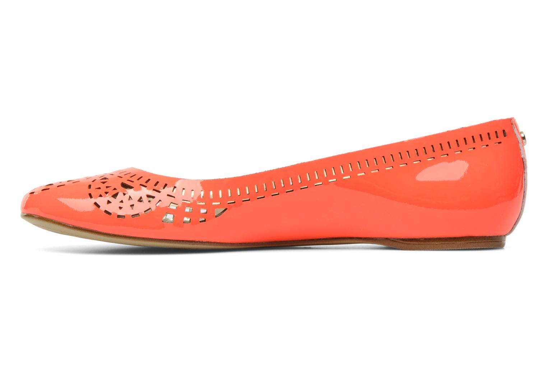 Bailarinas Guess Abia Naranja vista de frente