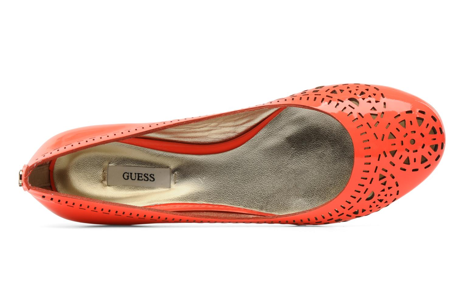 Ballet pumps Guess Abia Orange view from the left
