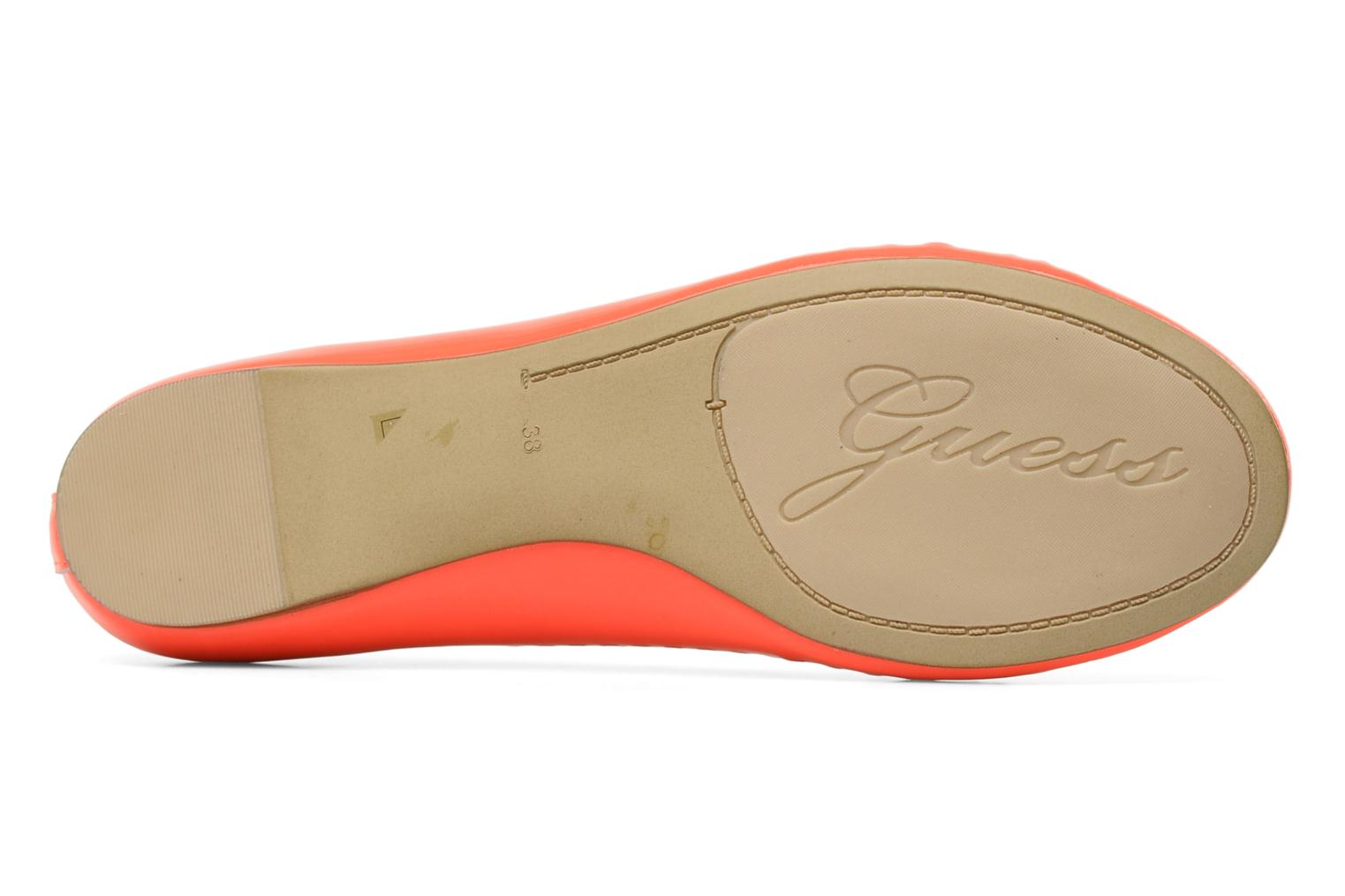 Ballet pumps Guess Abia Orange view from above