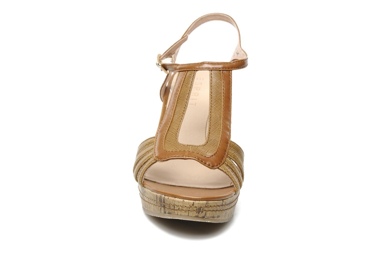 Sandali e scarpe aperte Esprit Julia Sandal Marrone modello indossato