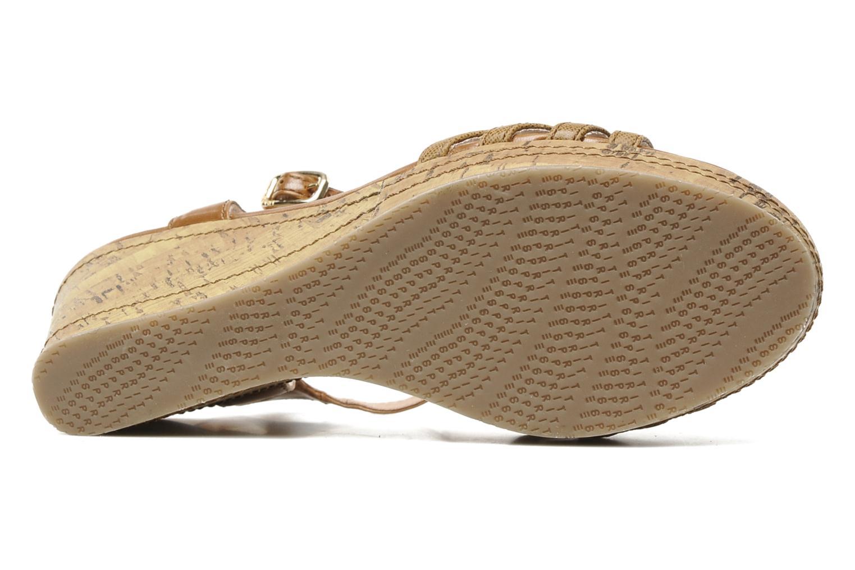 Sandali e scarpe aperte Esprit Julia Sandal Marrone immagine dall'alto