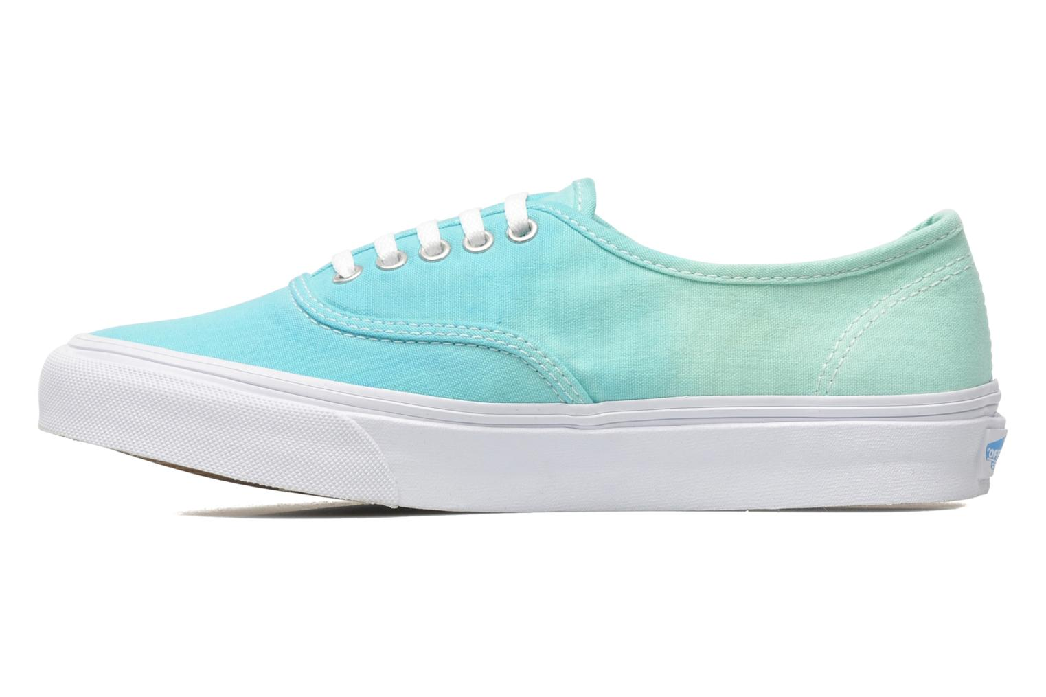 Baskets Vans Authentic Slim W Vert vue face