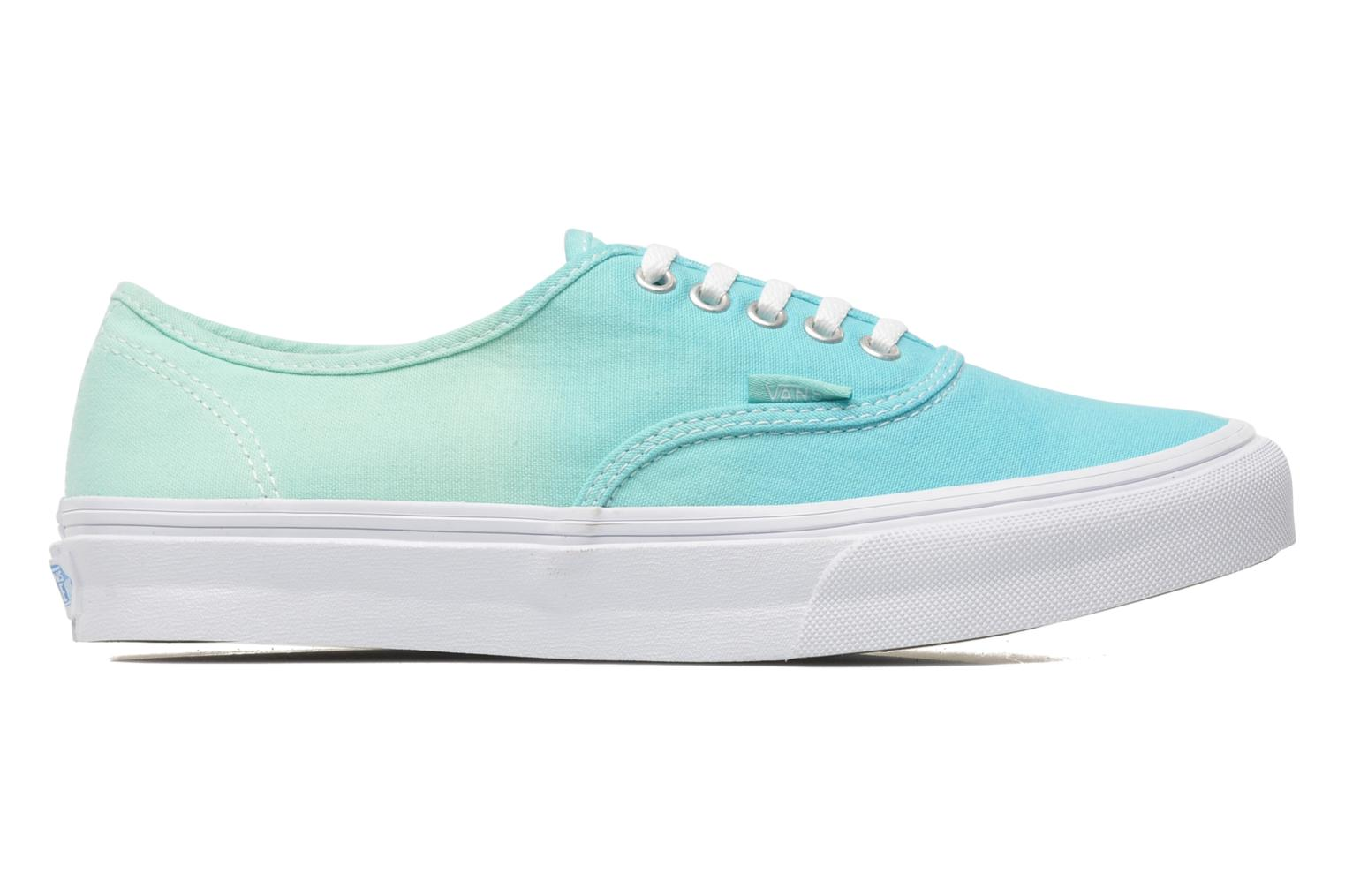 Baskets Vans Authentic Slim W Vert vue derrière