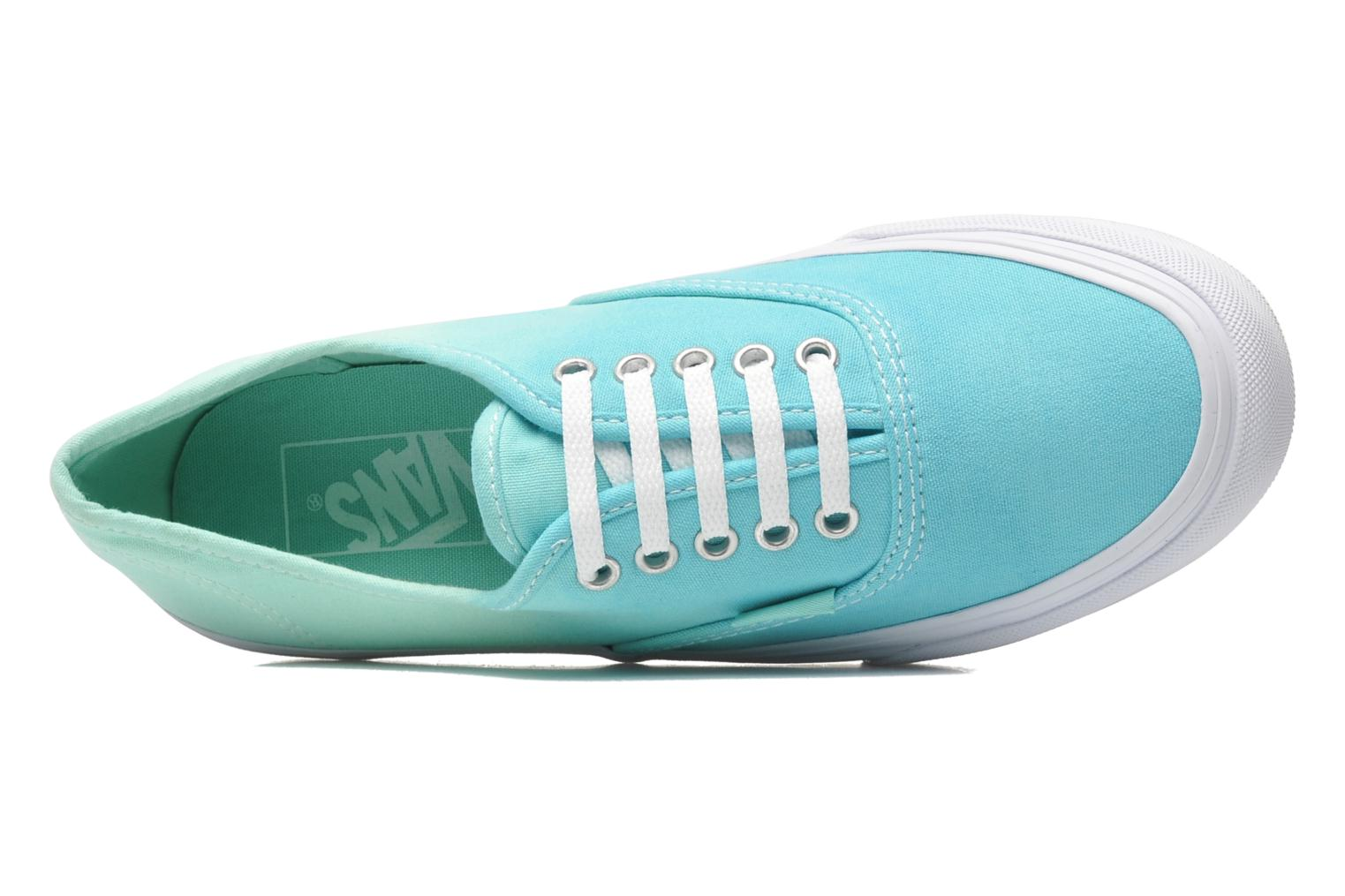 Baskets Vans Authentic Slim W Vert vue gauche