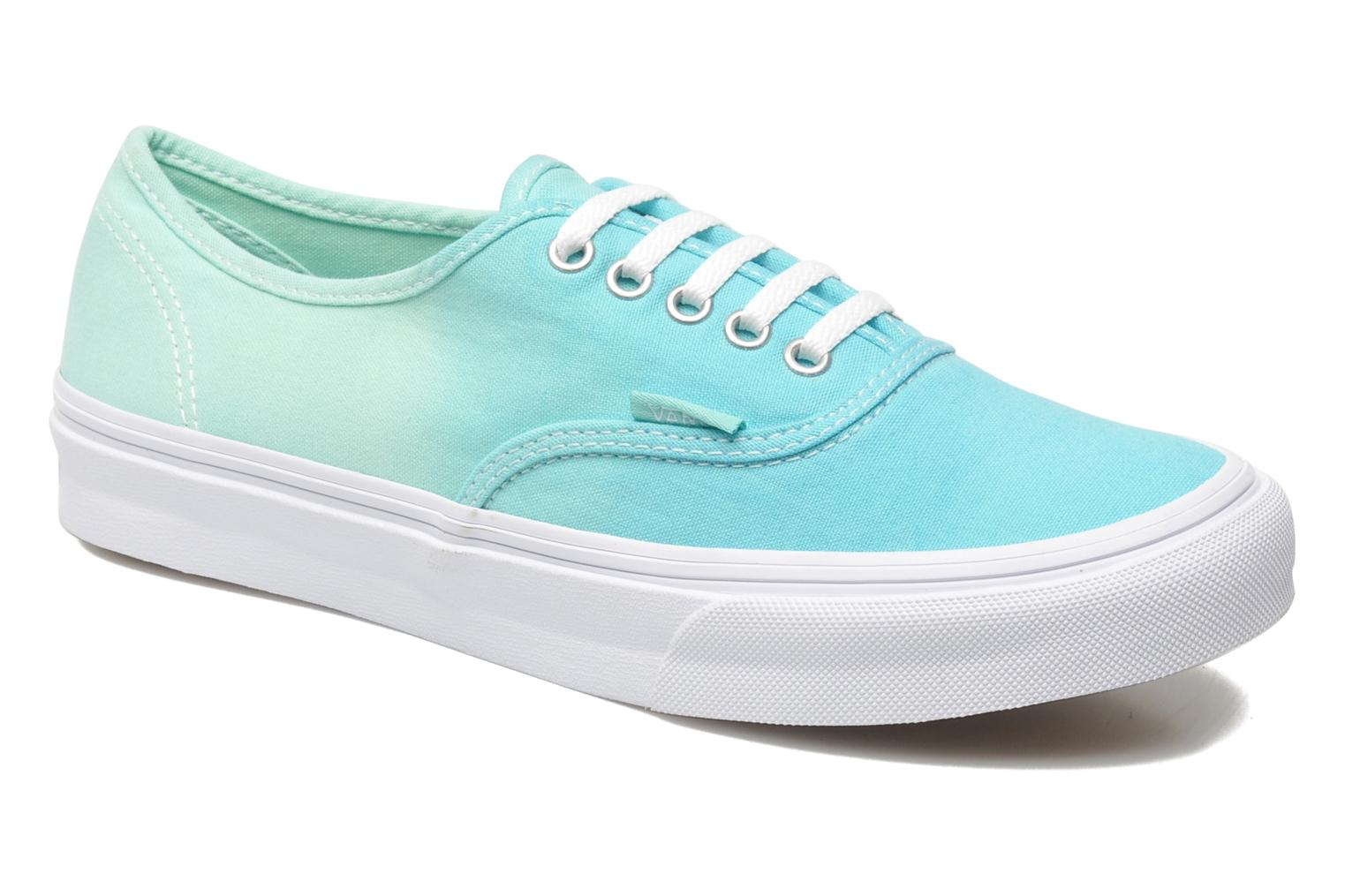 Baskets Vans Authentic Slim W Vert vue détail/paire