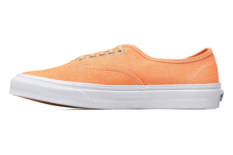 Baskets Vans Authentic Slim W Orange vue face