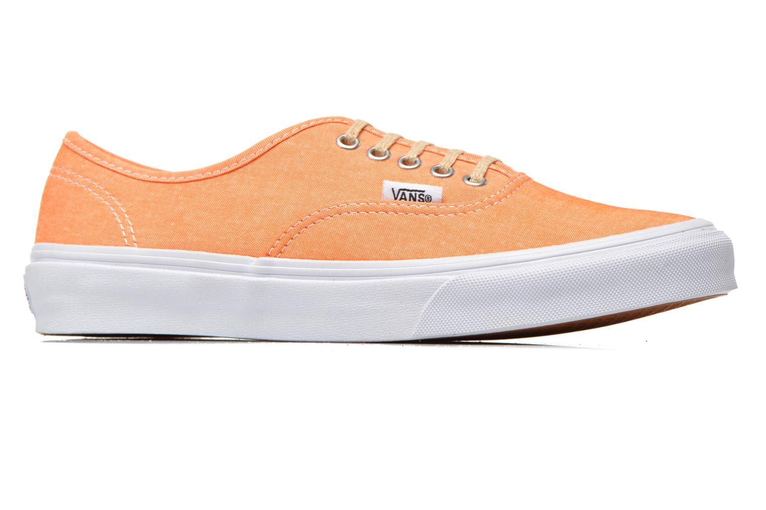 Baskets Vans Authentic Slim W Orange vue derrière