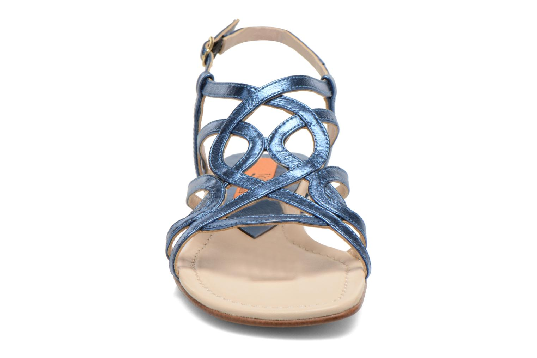 Sandalen Anna Volodia Aplat blau schuhe getragen
