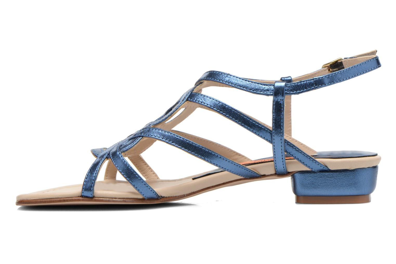 Sandals Anna Volodia Aplat Blue front view