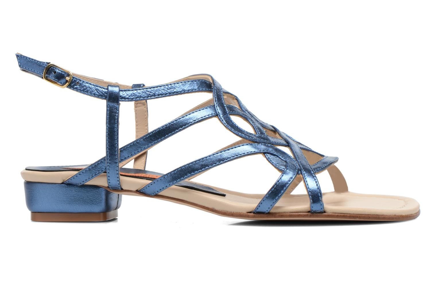 Sandals Anna Volodia Aplat Blue back view