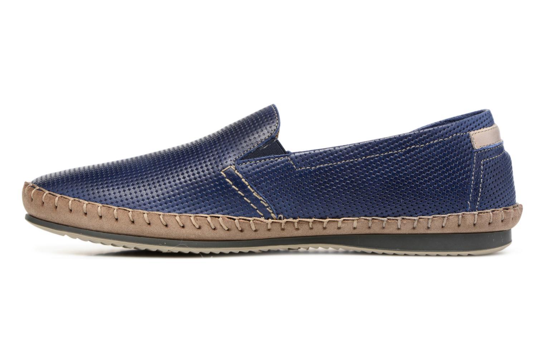 Slipper Fluchos Bahamas 8674 blau ansicht von vorne