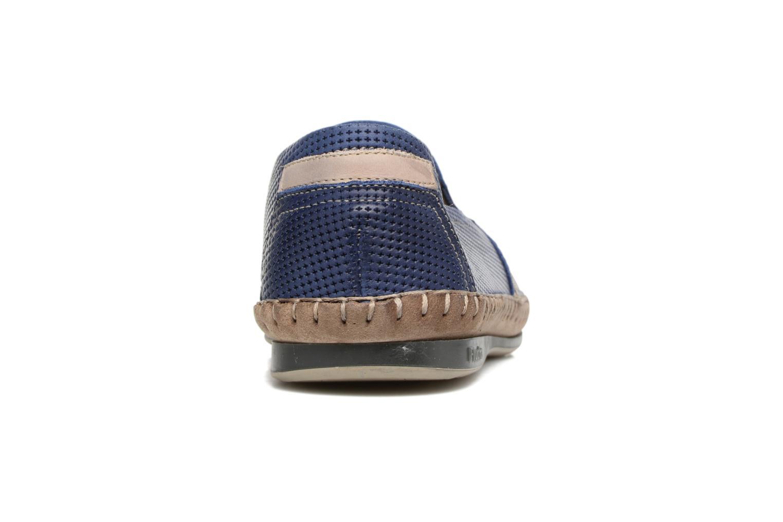 Loafers Fluchos Bahamas 8674 Blå Bild från höger sidan