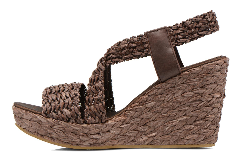 Sandales et nu-pieds Elizabeth Stuart Fuxy 310 Marron vue face