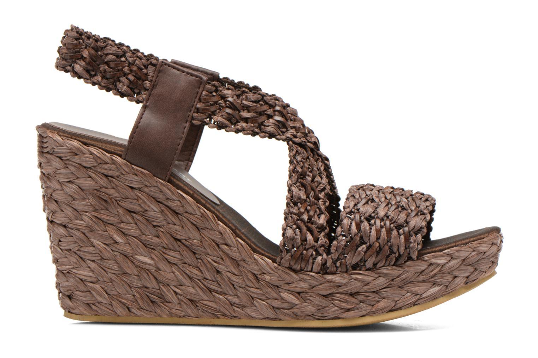 Sandales et nu-pieds Elizabeth Stuart Fuxy 310 Marron vue derrière