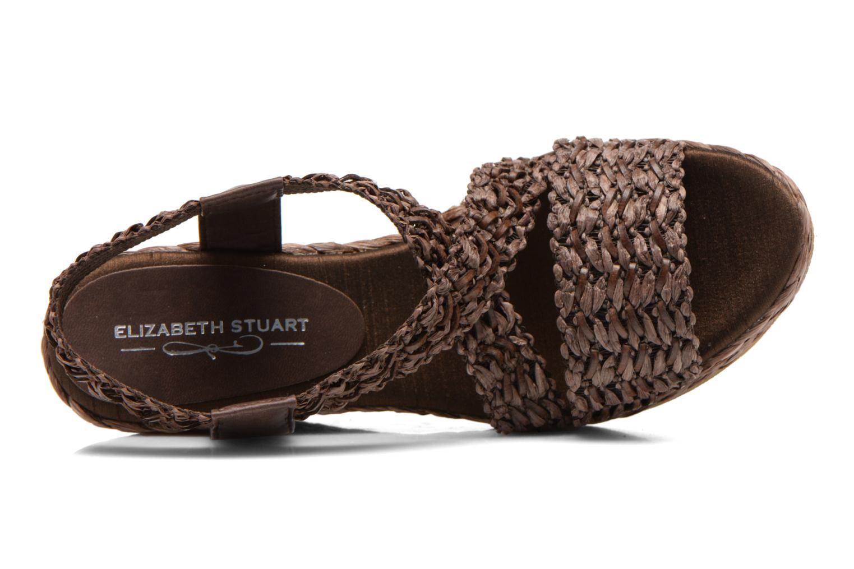 Sandali e scarpe aperte Elizabeth Stuart Fuxy 310 Marrone immagine sinistra