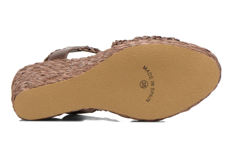 Sandales et nu-pieds Elizabeth Stuart Fuxy 310 Marron vue haut