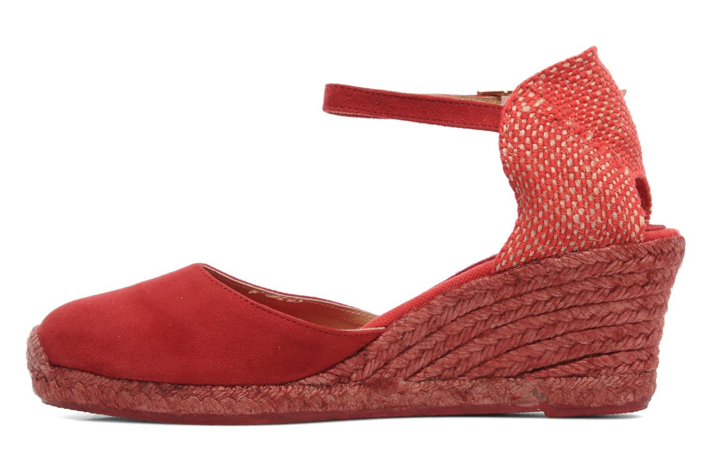 Sandalen Elizabeth Stuart Volga 630 rot ansicht von vorne