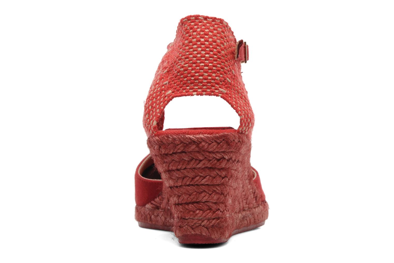 Sandaler Elizabeth Stuart Volga 630 Rød Se fra højre
