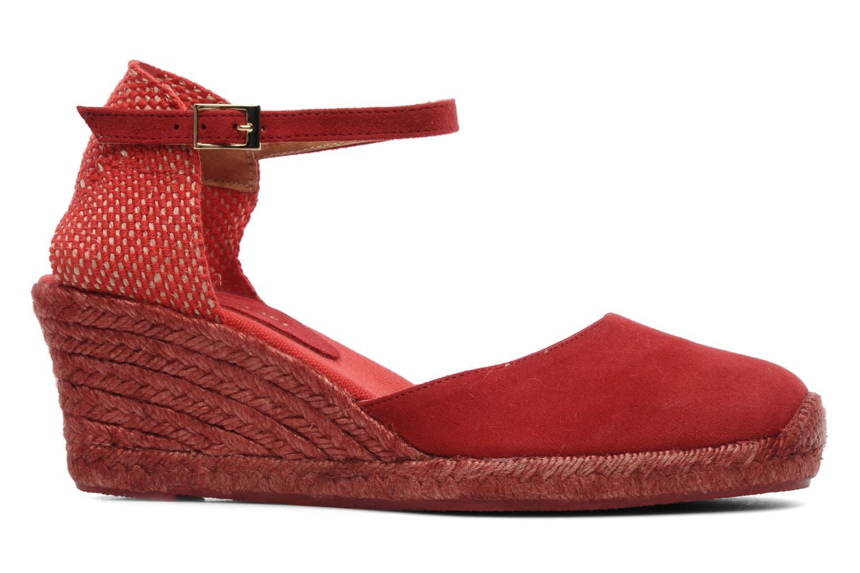 Sandalen Elizabeth Stuart Volga 630 rot ansicht von hinten
