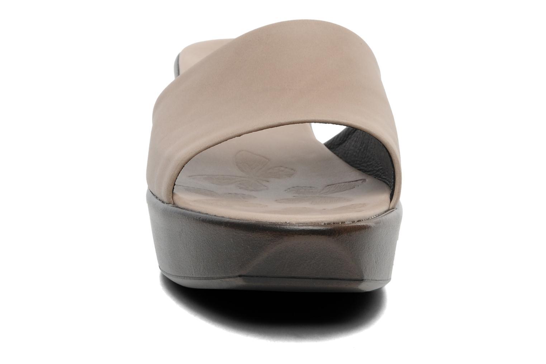 Clogs & Pantoletten Elizabeth Stuart Vivi 304 grau schuhe getragen