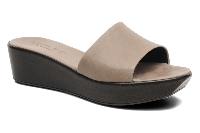 Clogs og træsko Elizabeth Stuart Vivi 304 Grå detaljeret billede af skoene
