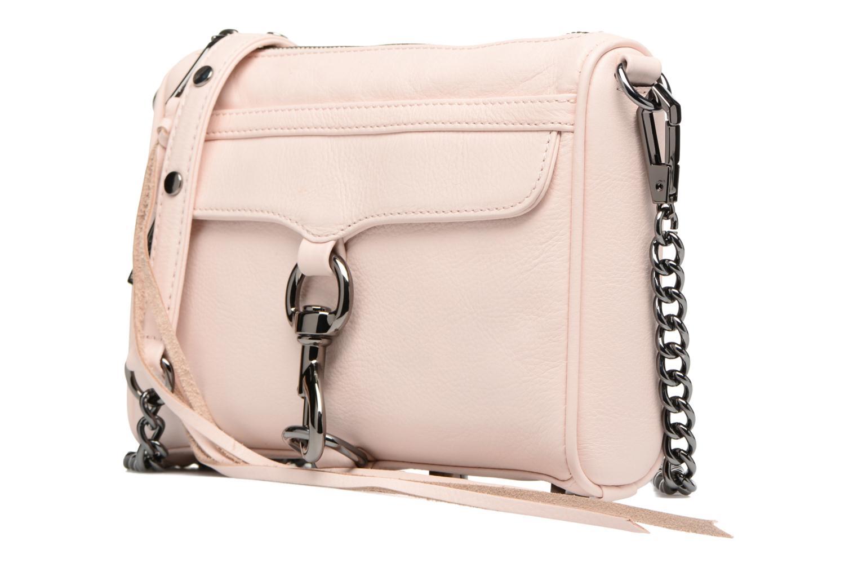 Handtassen Rebecca Minkoff Mini MAC Roze model