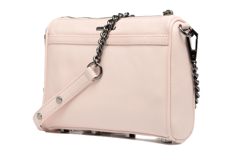 Handtassen Rebecca Minkoff Mini MAC Roze rechts