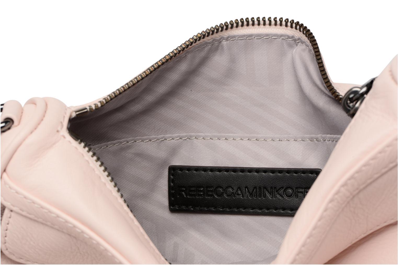 Handtassen Rebecca Minkoff Mini MAC Roze achterkant