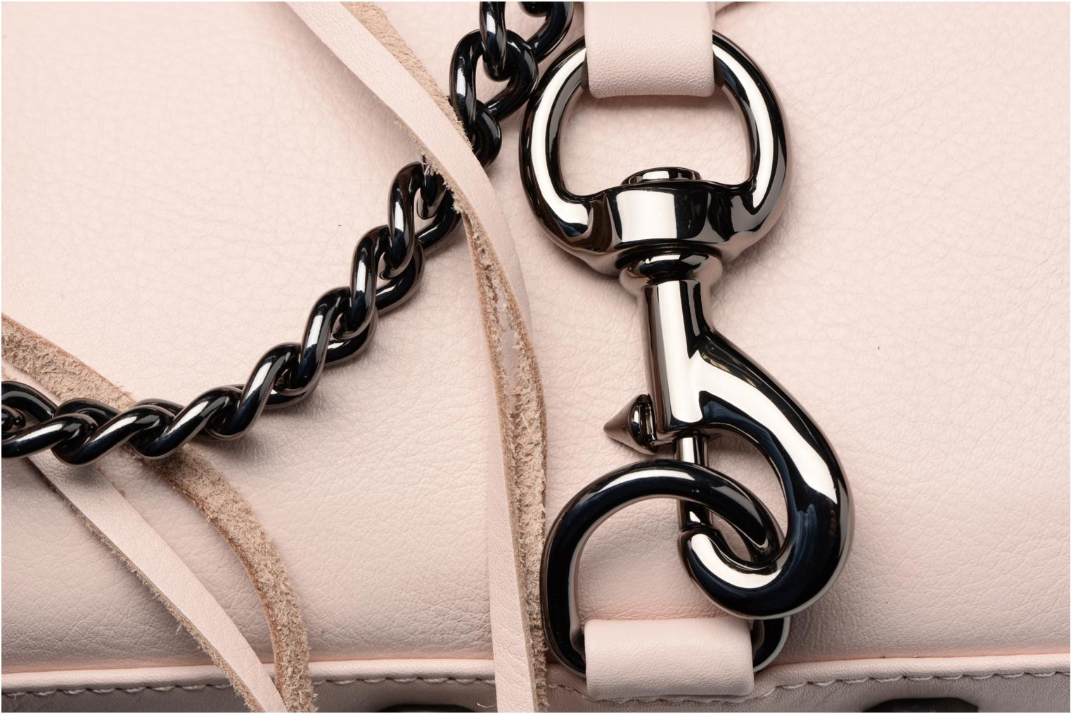 Handbags Rebecca Minkoff Mini MAC Pink view from the left