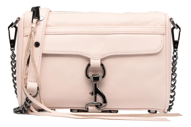 Handtassen Rebecca Minkoff Mini MAC Roze detail