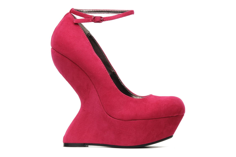 High heels Steve Madden Gravityy Pink back view