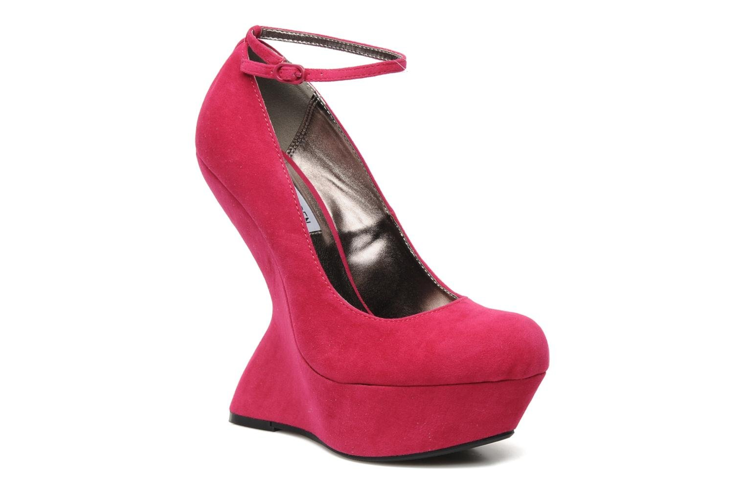 High heels Steve Madden Gravityy Pink detailed view/ Pair view