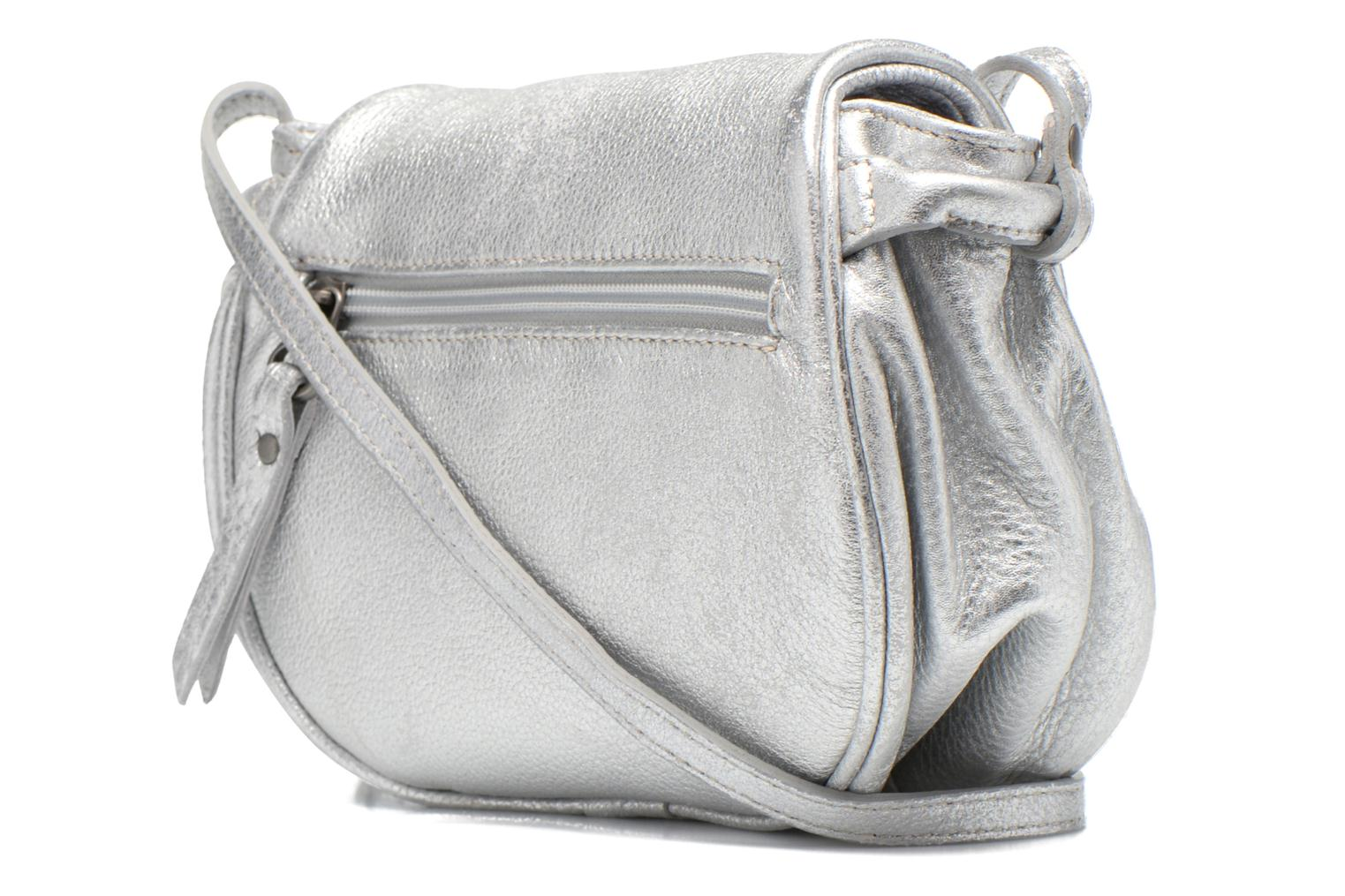 Handbags Sabrina Alice Silver view from the right