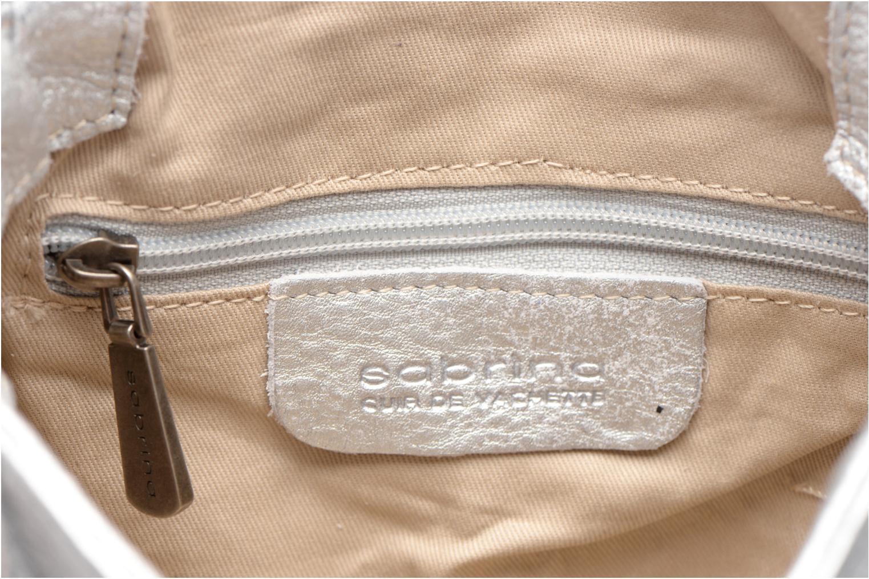 Handtassen Sabrina Alice Zilver achterkant