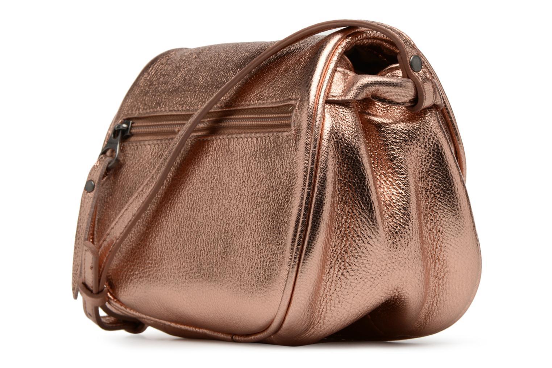 Handväskor Sabrina Alice Bronze och Guld Bild från höger sidan
