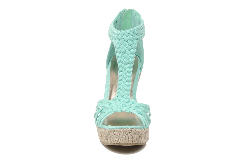 Sandales et nu-pieds Steve Madden P-RISE Vert vue portées chaussures