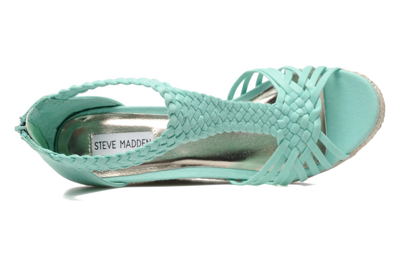 Sandales et nu-pieds Steve Madden P-RISE Vert vue gauche
