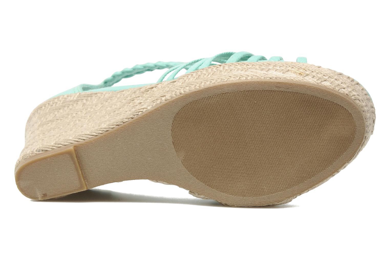 Sandales et nu-pieds Steve Madden P-RISE Vert vue haut